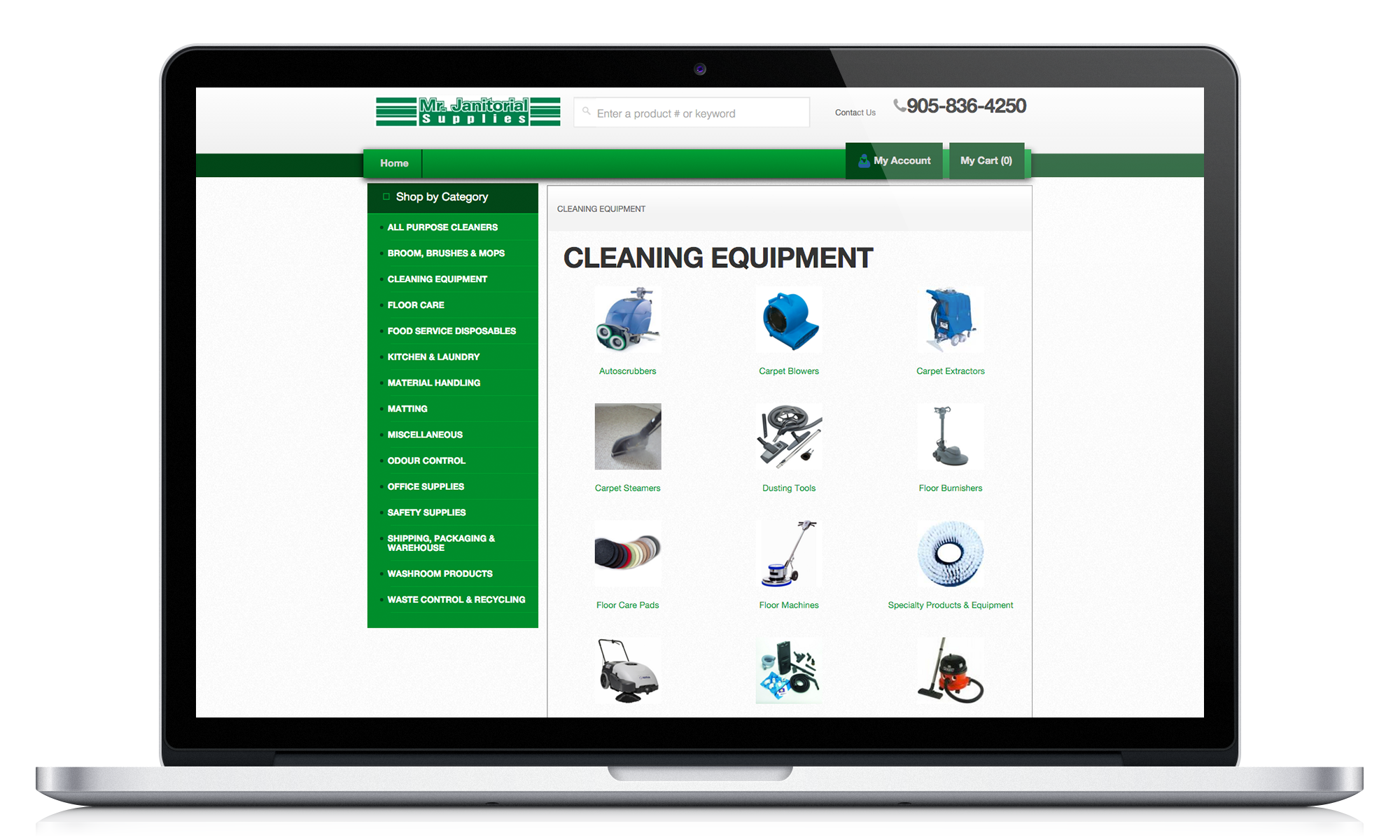 Order Cleaning Equipment Online
