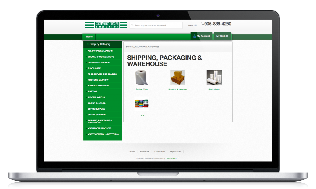 Shipping, Packaging, and Warehousing